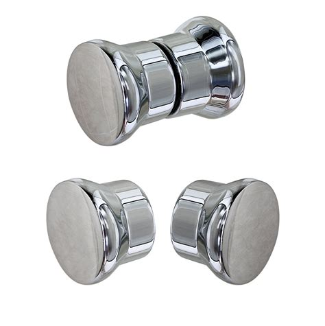 Shower Door Knob Replacement Shower Door Handles U201d Inline With Notched Panel And Return Panel And A 6u201d Pull Handle