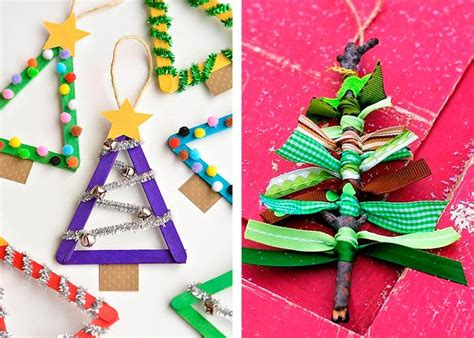 christmas decorations for kids to draw crafts with children 100 original and simple craft ideas fresh design pedia