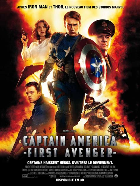 film marvel en francais captain america first avenger film 2011 allocin 233
