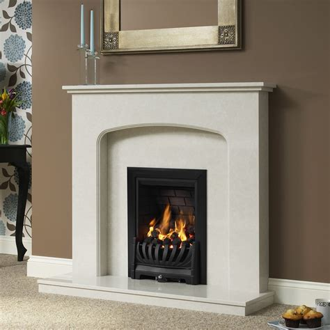 be modern tasmin 46 quot marble fireplace surround fireplace