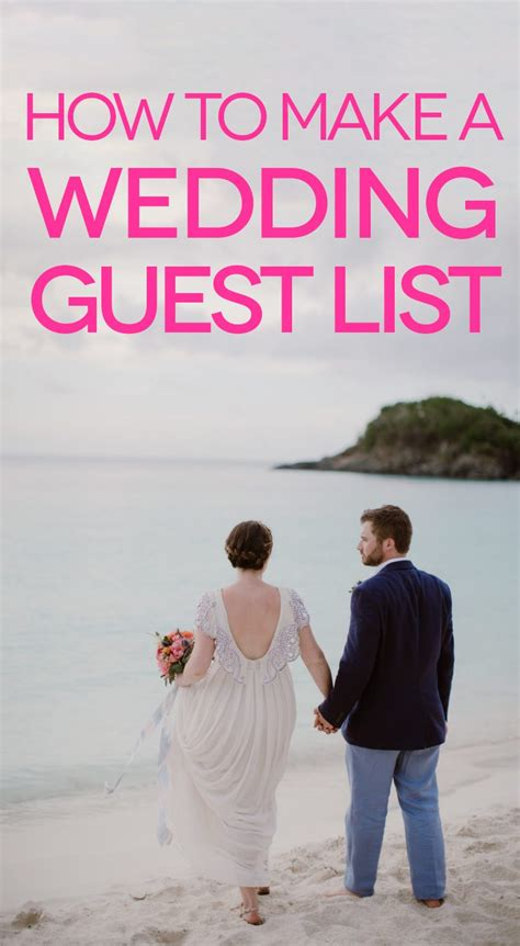 how to make a wedding guest list on excel how to make a wedding guest list a practical wedding a