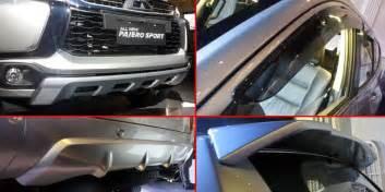 Mitsubishi All New Pajero Sport Talang Air paket aksesori resmi quot all new quot pajero sport cuma rp 5 juta kompas