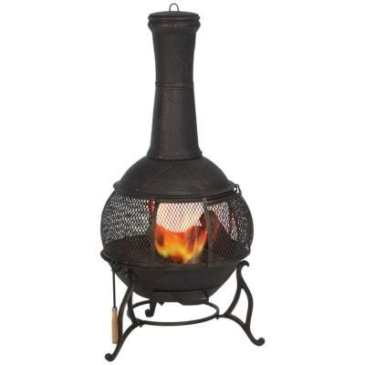 Hton Bay Chiminea by Home Depot Chiminea Best 28 Images Hton Bay 54 In Cast
