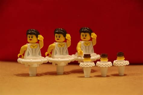 Lego Balerina swan lake spot the difference lego town eurobricks forums
