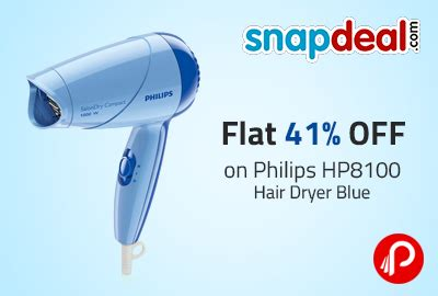 Philips Hp8100 Hair Dryer Blue flat 41 on philips hp8100 hair dryer blue snapdeal