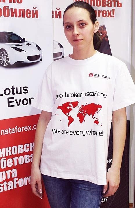 Kaos Forex t shirt oleh instaforex