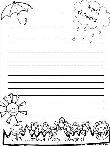 march printable stationary 17 best images about classroom spring on pinterest