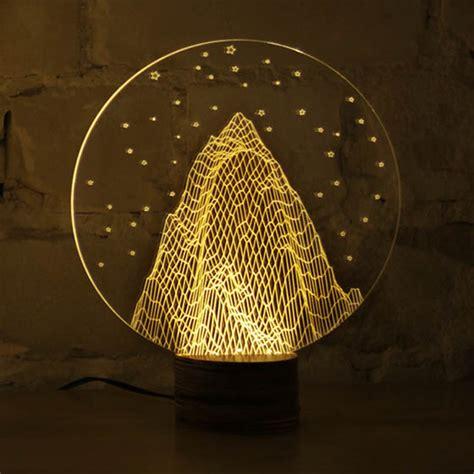 bulbing optical illusion  led lamp
