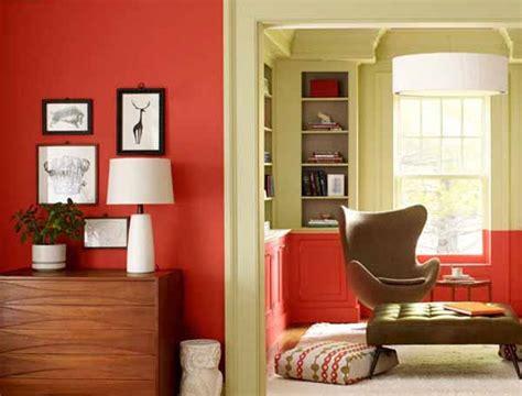 modern interior color schemes orange room colors pantone tangerine tango modern