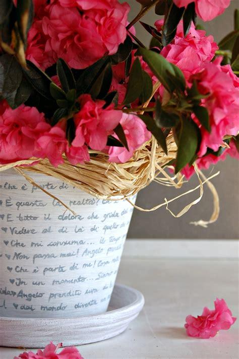 vaso di coccio mamma papera vaso di coccio decorato fai da te