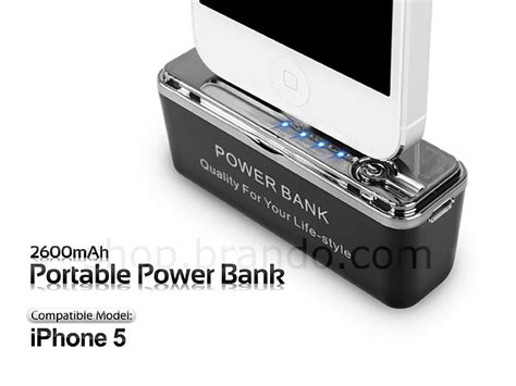 Iphone Power Bank 47000 2600mah portable power bank for iphone 5