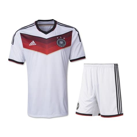 Jersey Germany Home 2014 germany home white soccer jersey kit shirt shorts germany