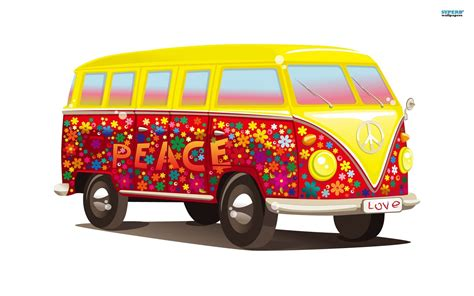 volkswagen hippie van 15 vw combi van hd wallpapers volkswagen kombi hippie bus