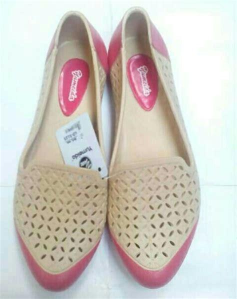 jual sepatu pantofel karet wanita flatshoes yumeida murah