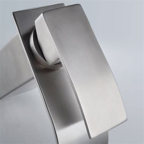 Kamloops Stainless Steel Bathroom Sink Faucet Stainless Steel Bathroom Faucets