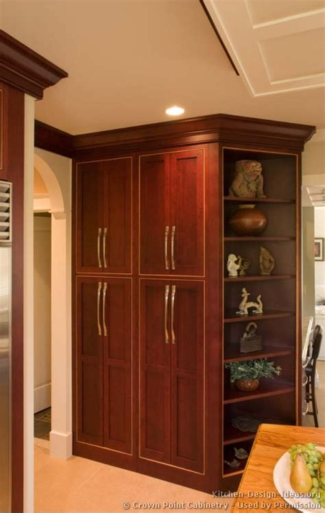 wood kitchen pantry cabinet cherry wood kitchen pantry cabinet pictures of kitchens