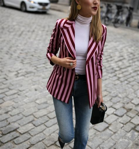 Pink Style Stripe Casual Top 24627 5 staple tops to get you through winter memorandum
