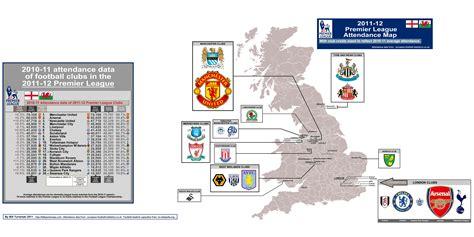 epl epl location of english premier league teams british premier