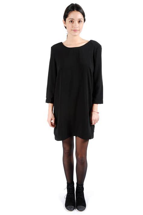 Long Sleeve Shift Dress Dressed Up Girl Black Sleeve