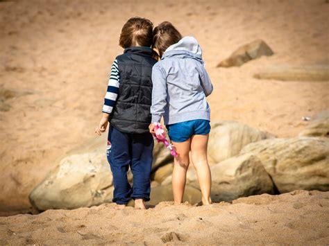 Free photo: Child, Boy, Girl, Friends, Children   Free