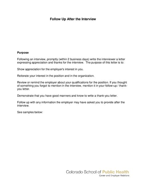 sle follow up letter to cover letter templates follow up