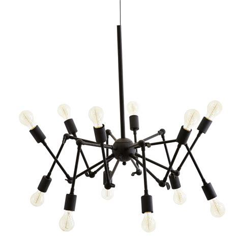 lustre contemporain design madam stoltz luminaire lustre suspension grande a douze
