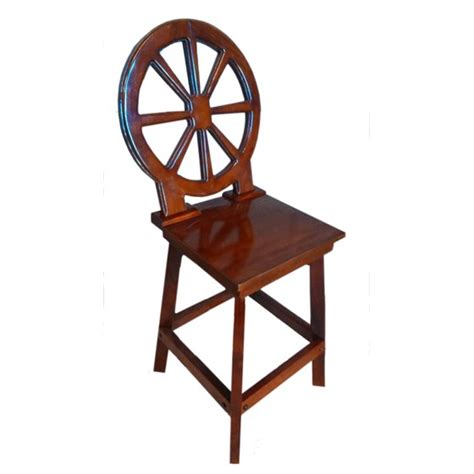Bar Stools 29 Seat Height by Mahogany Wood Bar Stool With Wheel Back 29 Quot Quot Seat Height