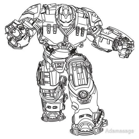 coloring pages hulk buster how to draw hulkbuster proyectos que intentar pinterest