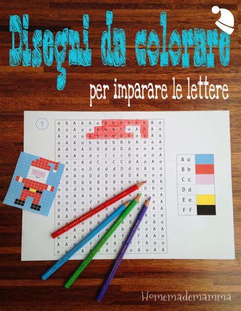 giochi con le lettere per bambini disegni natalizi da colorare per imparare le lettere