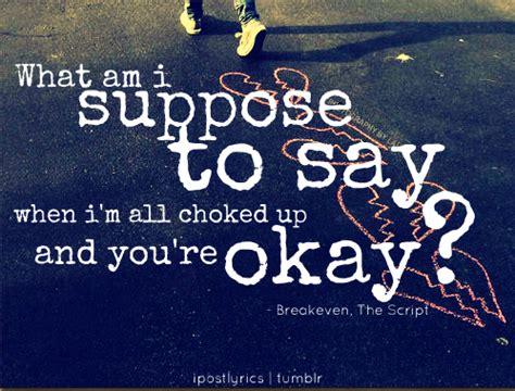 the script lyric quotes break even the script lyric quotes quotesgram