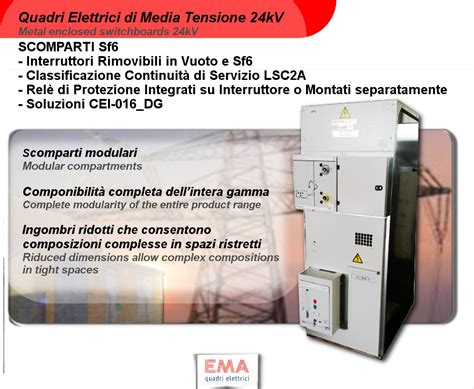 cabina di media tensione quadri mt sf6 categoria cabine elettriche di media