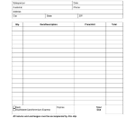 free itemized donation receipt excel template printable blank receipt templates excel pdf