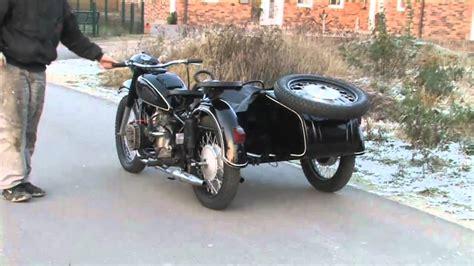Ural Motorrad Youtube by Dnepr Mt9 Ural M72 K750 Ural M 72 K 750 Youtube
