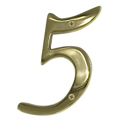 brass house most elegant brass house numbers invisibleinkradio home decor