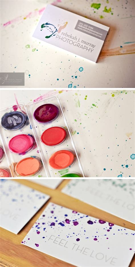 watercolour cards diy diy watercolor business cards gallery plus tips on your own ministry of canvas