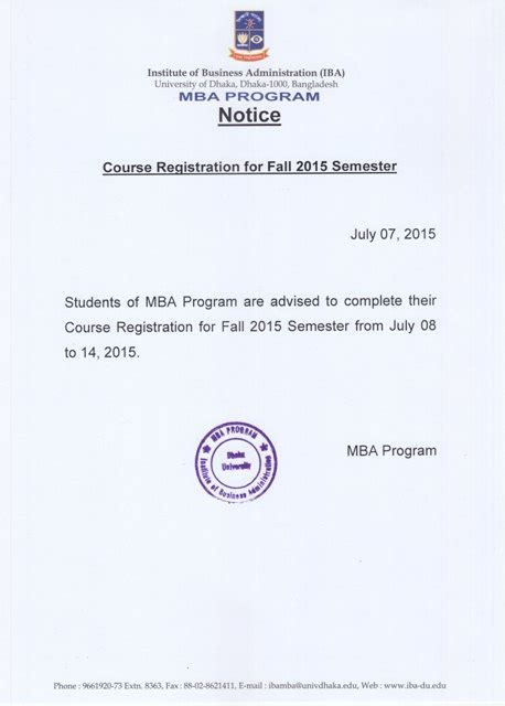 Mba Course Cost In Bd by Iba Of Dhaka