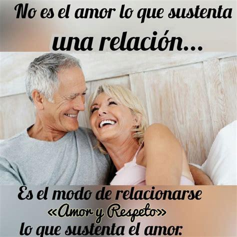 tu no ets una no es el amor lo que sustenta una relaci 243 n es el modo de relacionarse quot amor y respeto quot lo que