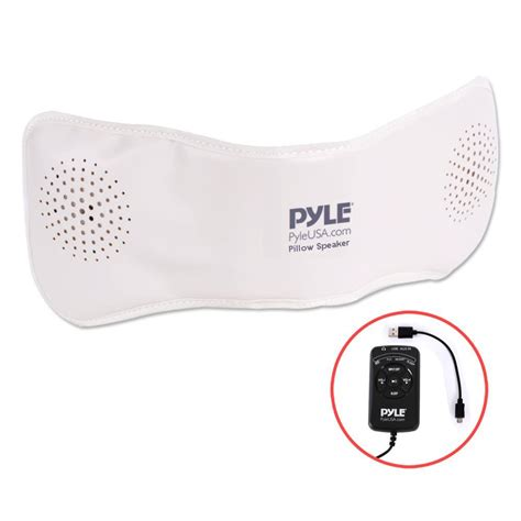 bluetooth pillow speaker pyle ppsp18 bluetooth pillow speaker with built in