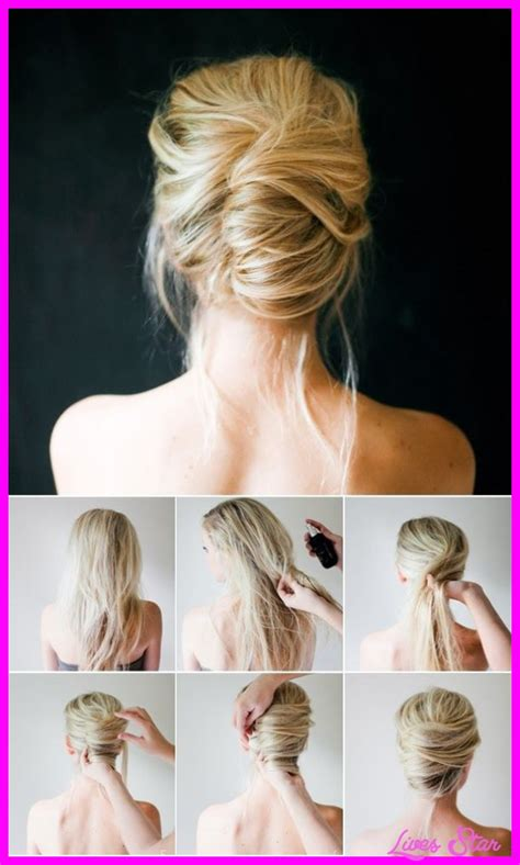 hairstyle steps for step by step hairstyles hairstyles fashion makeup