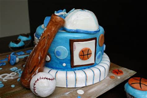 Baby Shower Cakes Sports Theme by Picture Cakes Sports Themed Baby Shower Cake