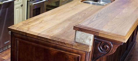 Wood Countertop Finish by Teak Countertops J Aaron