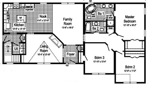 biltmore floor plan biltmore modular home floor plan