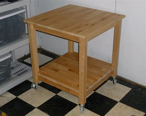 rolling kitchen island table norden tables turn into rolling kitchen island ikea