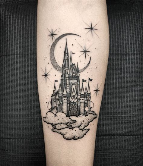 disney castle tattoo eckeard castle