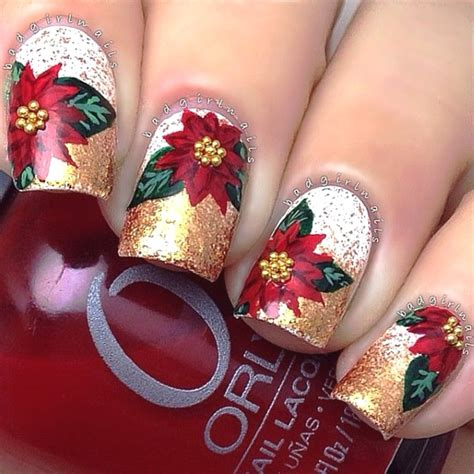 design nail art for christmas best christmas nail art designs pink lover