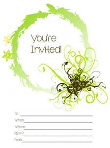 you re invited party invitation