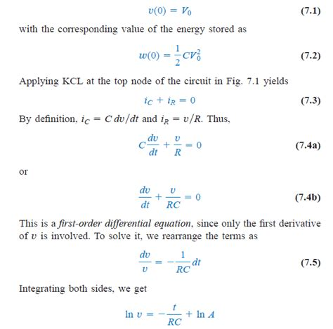 initial energy stored in a capacitor electrical circuits 1 lesson eleven