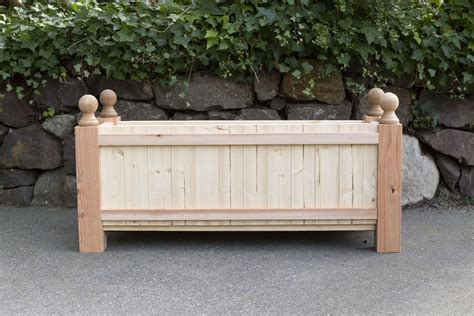 Planter Box Wa by Finials Cap This Project Woodway Products