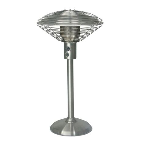 Stainless Steel Tabletop Patio Heater by Sarara Patio Heater Stainless Steel Tabletop Patio Heater