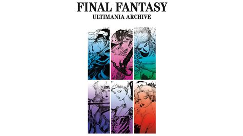 final fantasy ultimania archive 1506706444 dark horse announces final fantasy ultimania archive on sale june 2018 gameaxis